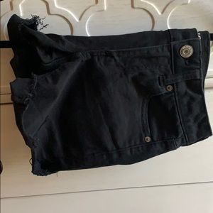 American eagle black shorts (worn once)